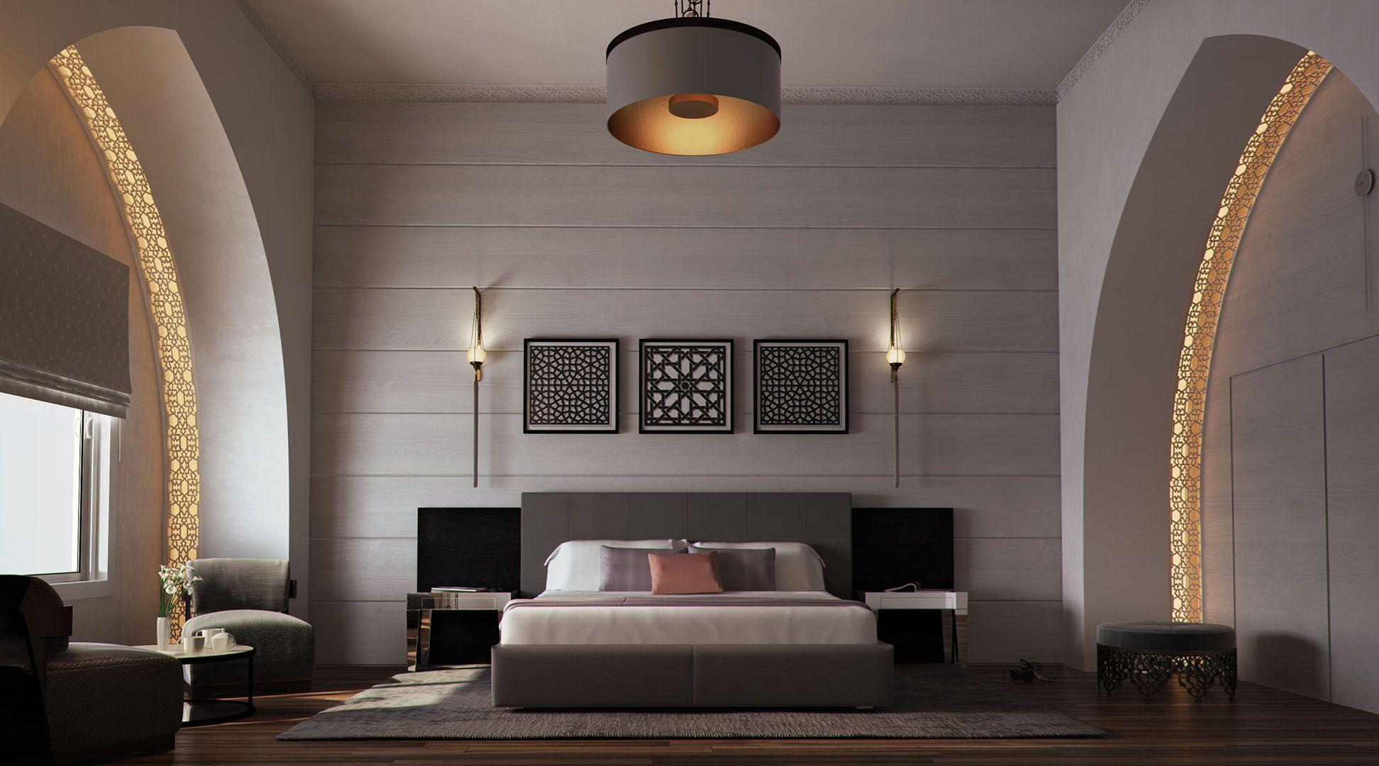 Mimar Interiors Solid Against Translucent Elements