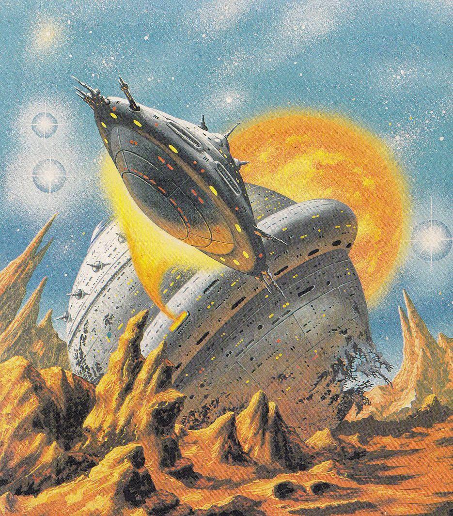Vintage Sci Fi Illustrations Retro Science Fiction: Thevaultofretroscifi: Alfred Kelsner