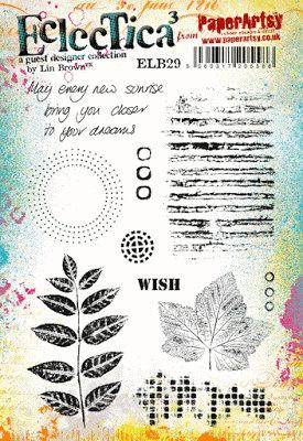 Art Stamps Linda Brown Maple Leaf Stamp