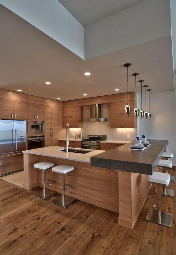 17 Diseños Modernos de Cocinas Minimalistas | cocinas perfectas ...