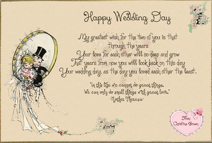 Best Wishes For Wedding Card: Wedding Cards Wishes, Best quotes for ...