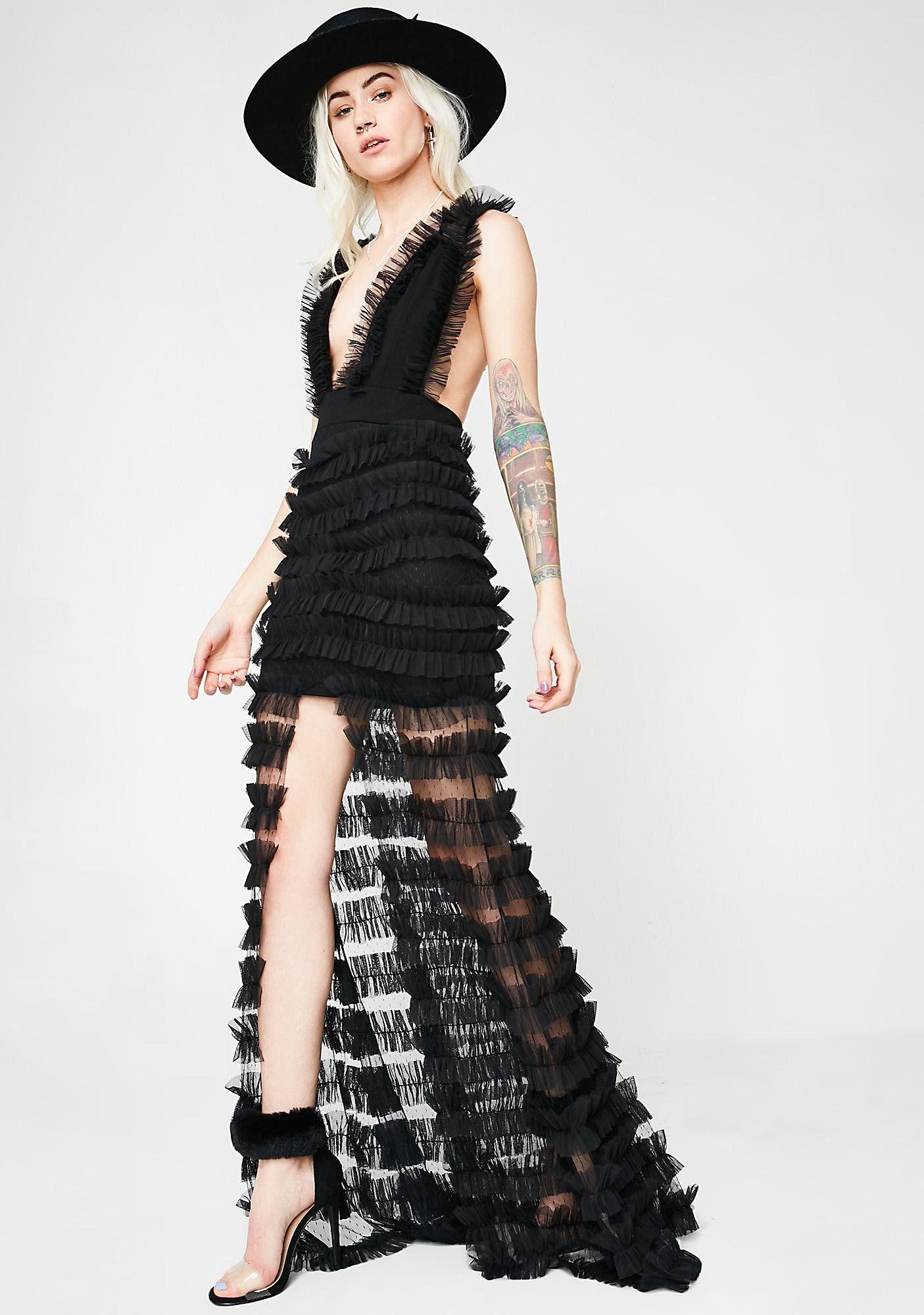 Kiki riki youure the one ruffled maxi dress fashion pinterest