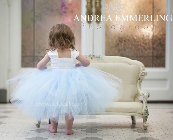 13++ Blue and white tutu dress inspirations