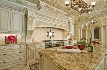 Atlanta Residential Home Mediterranean Kitchen With Images