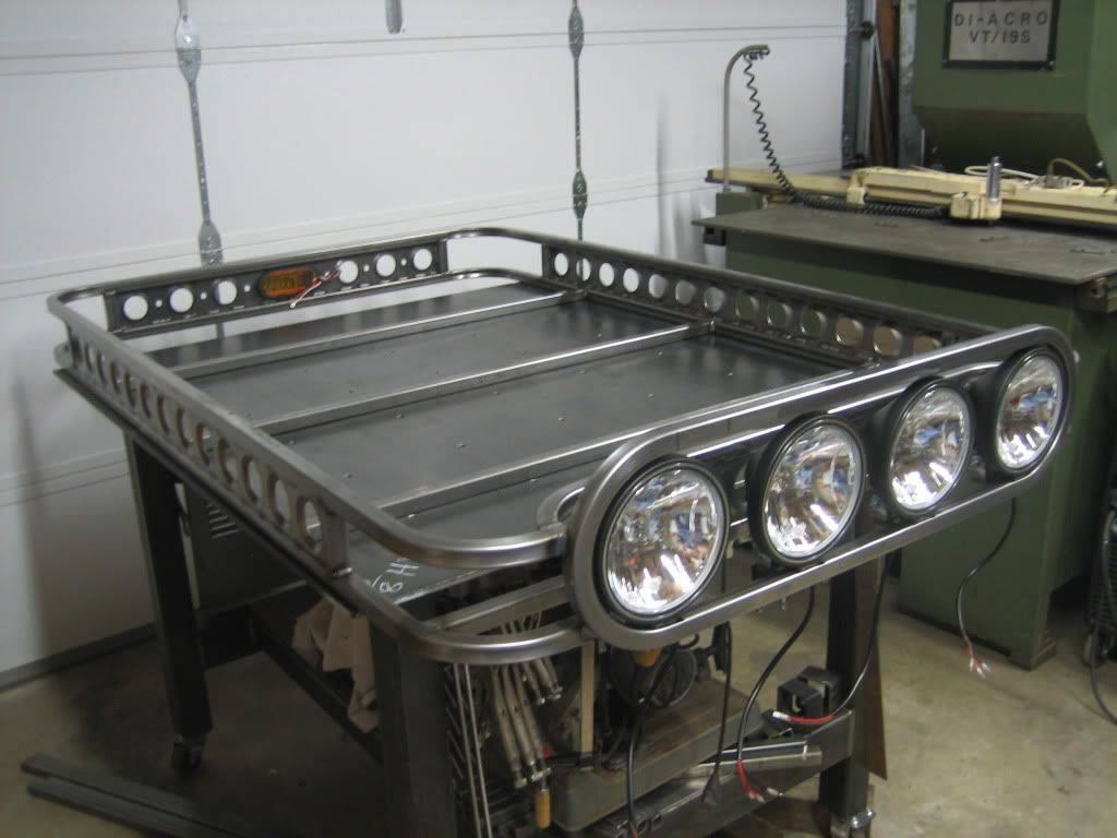 Roof Racks Diy Lets See Them Page 2 Pirate4x4 Com 4x4