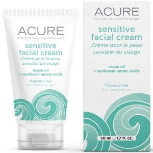 Use this facial cream to alleviate dryness. Fragrance free and suitable for sensitive skin. Palm oil free. 50ml.