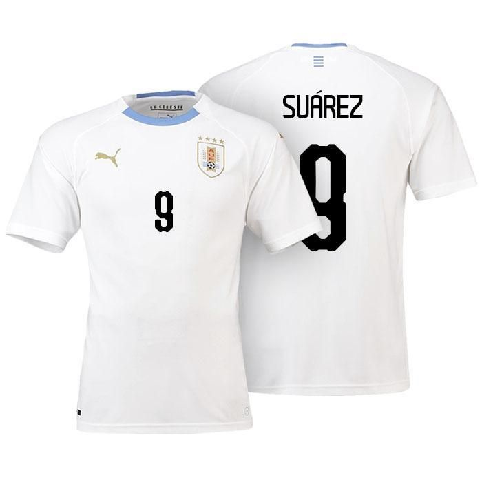 fefe80111 Men  9 Luis Suarez Jersey Uruguay National 2018 FIFA World Cup Player