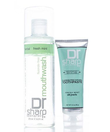 Loving this Oral Care Toothpaste & Mouthwash Set on #zulily! #zulilyfinds