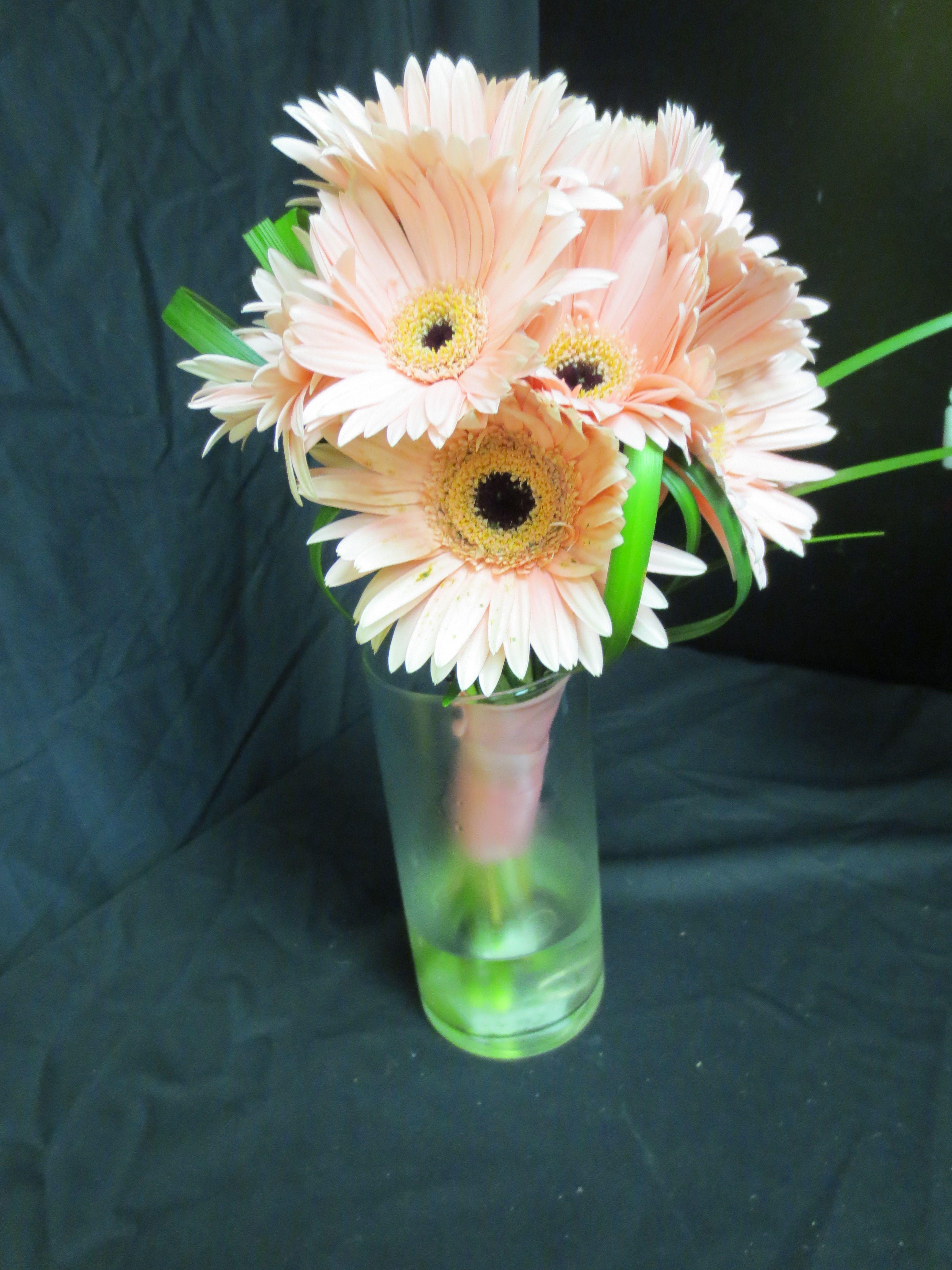 pink gerbs flowergirls weddings 58th lewis tulsa ok 918 949