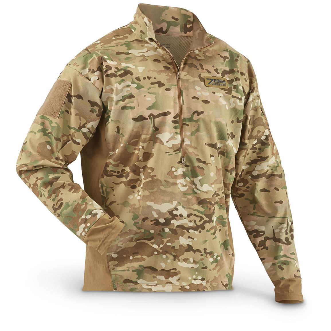37fafc916df New Men s U.S. Military Surplus Velocity Waterproof MultiCam 1 4-zip Anorak  Jacket