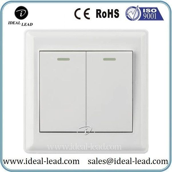 Factory Prices pakistan 2 gang 1 way electric wall switch   Wall ...