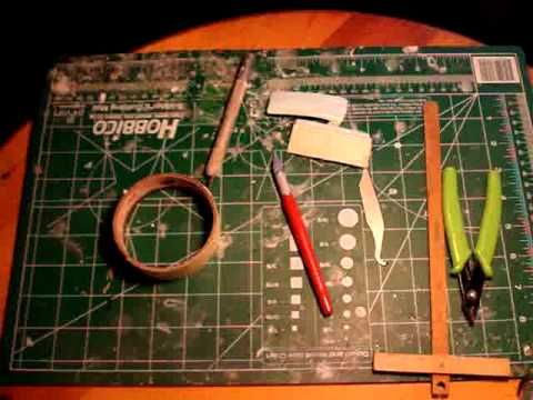 DIY: Tricks of the trade related to miniature projects for dollhouses, roomboxes and dioramas