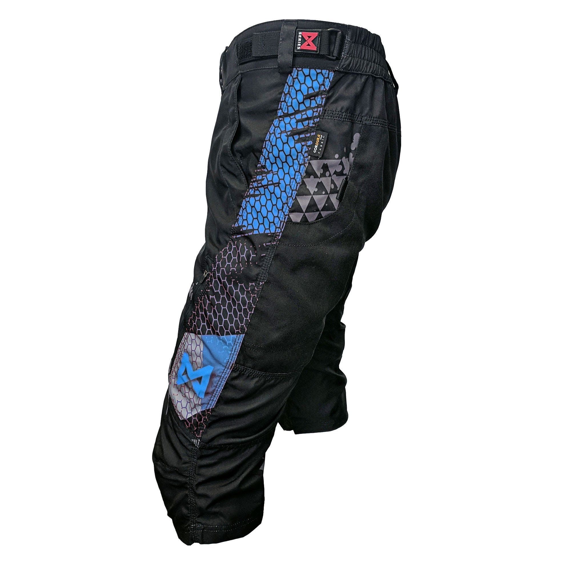 Mx Series Short Blue Skydiving Gear Fabric Combinations Form Fitting
