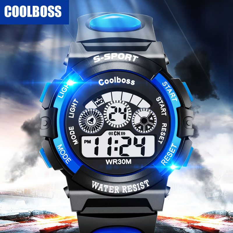 Children's Watches Synoke Sport Student Children Watch Kids Watches Clock Child Led Digital Wristwatch Electronic Wrist Watch Gilr Boy Gift Drop To Suit The PeopleS Convenience