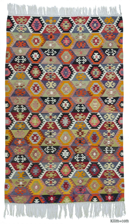 Vintage Tavas Kilim Rug   Kilim rugs, Rugs, Kilim