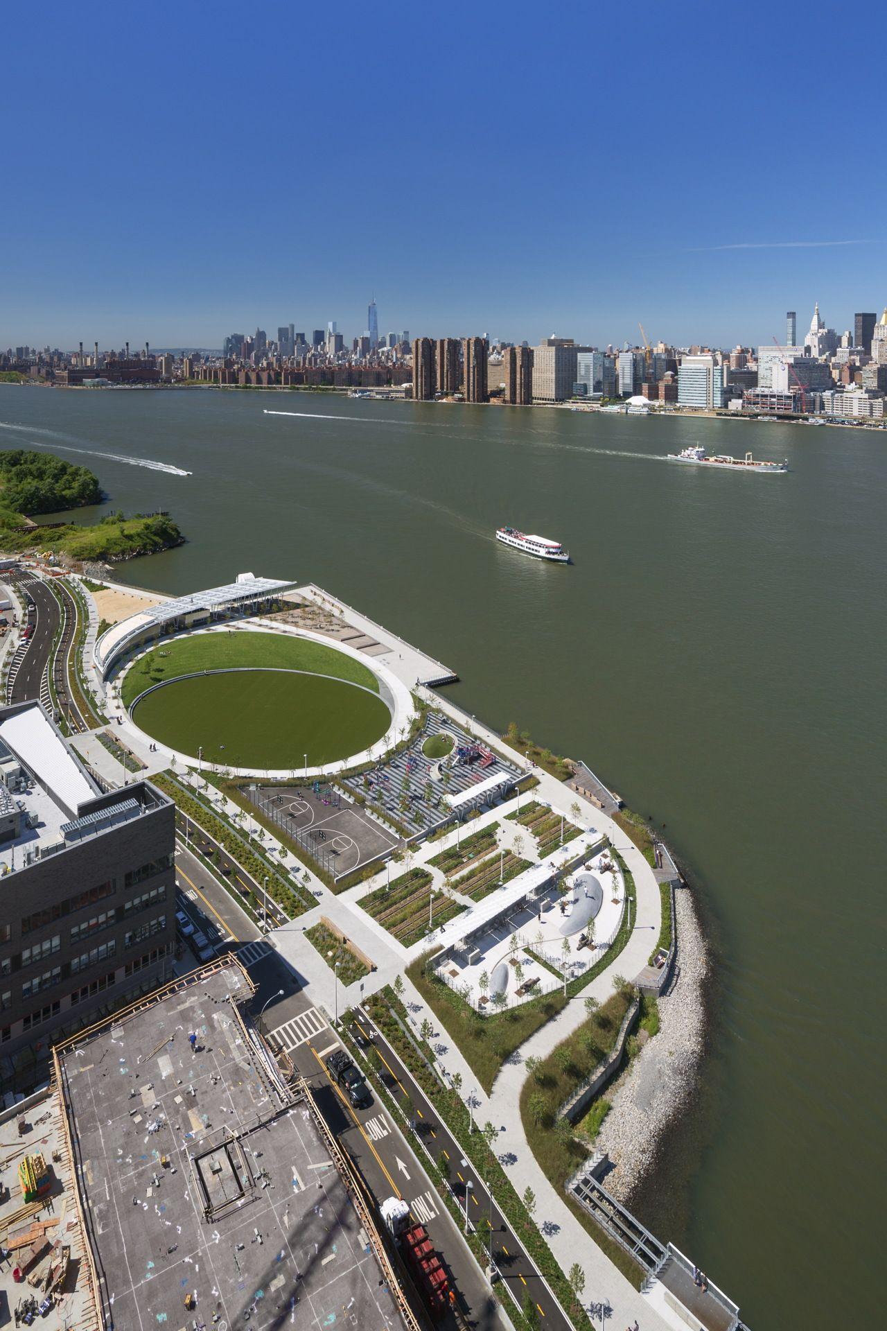 Weiss Manfredi Wins The 2018 National Design Award For Architecture Landscape Plans Long Island City Landscape Architecture