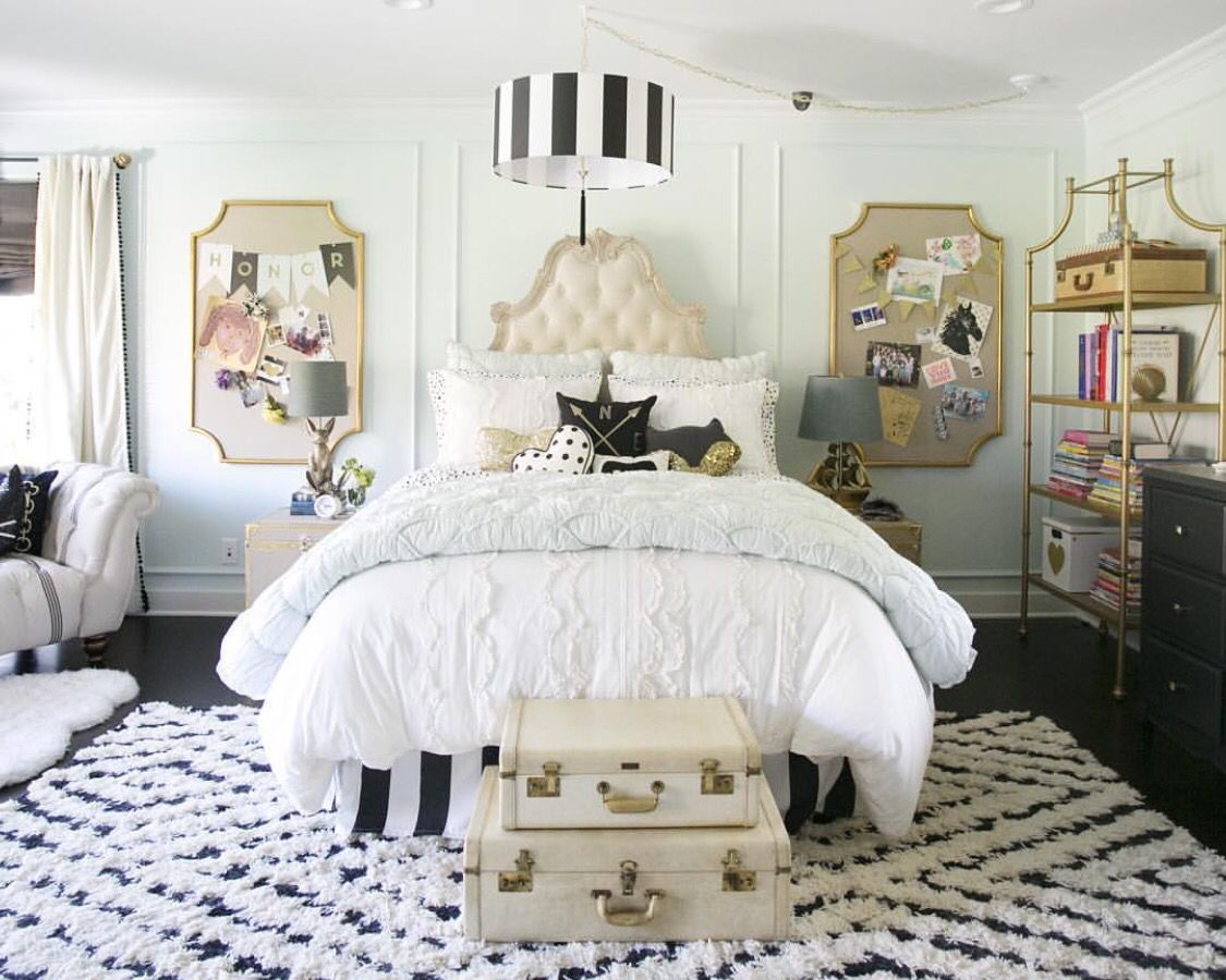 room by emily and merritt for pottery barn teen - Pottery Barn Bedroom Decorating Ideas