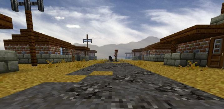 Download Http Minecrafteon Com Fallout Rebuilding Humanity Map Minecraft 1 4 7