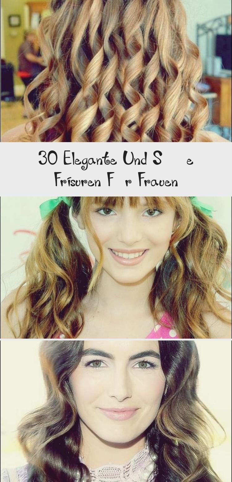 30 elegante und süße frisuren für frauen | hair styles
