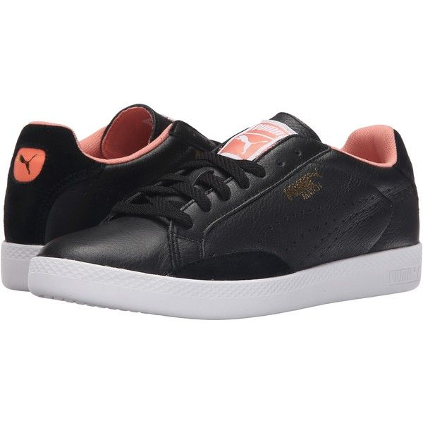 PUMA Match Lo Basic Sports (Black/Desert Flower) Women's Shoes ($40)