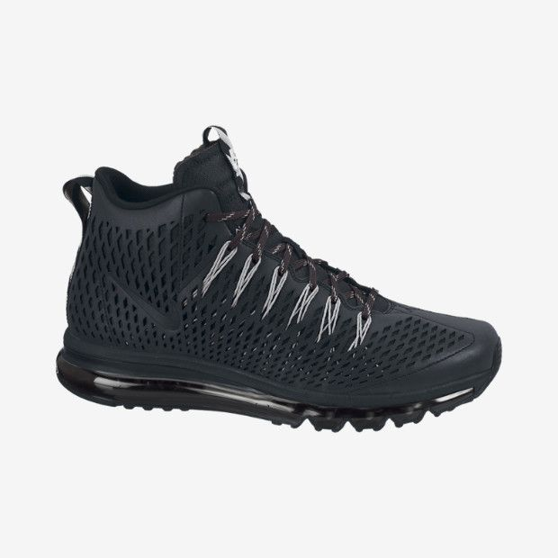 Nike Air Max 270 Premium All Black Mens Shoes