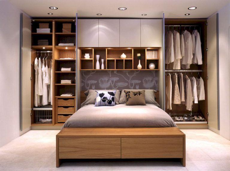 17 Stunning Diy Bedroom Storage Ideas Small Master Bedroom Small Guest Bedroom Small Space Bedroom