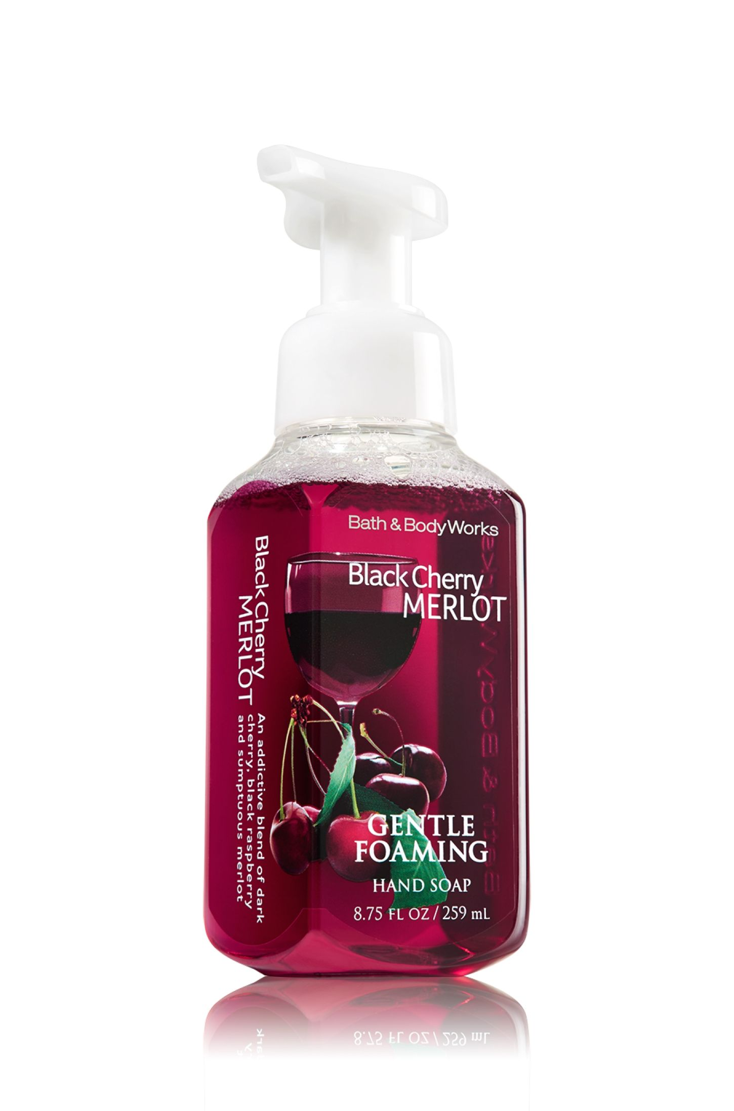 Black Cherry Merlot Gentle Foaming Hand Soap Anti Bacterial
