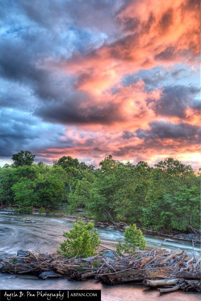 Maryland In Focus Sunset Over Great Falls Maryland Photo By A B Pan Photography A New Addition To Our Ph Great Falls Park Beautiful Nature Summer Landscape