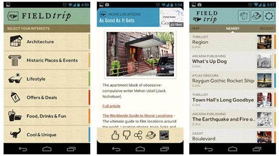 Google Field Trip New App | Apple | Local tour guides, World