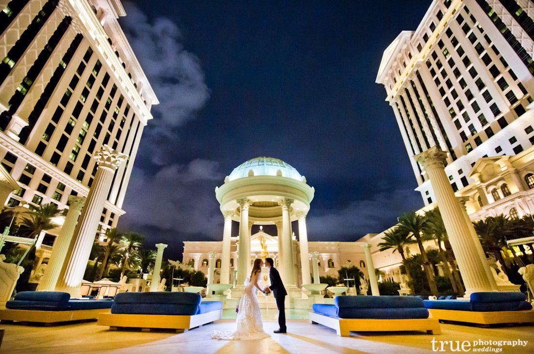 Las Vegas Wedding at Caesar's Palace / top local wedding