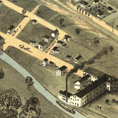 beautiful lafayette indiana | Lafayette Indiana 1868