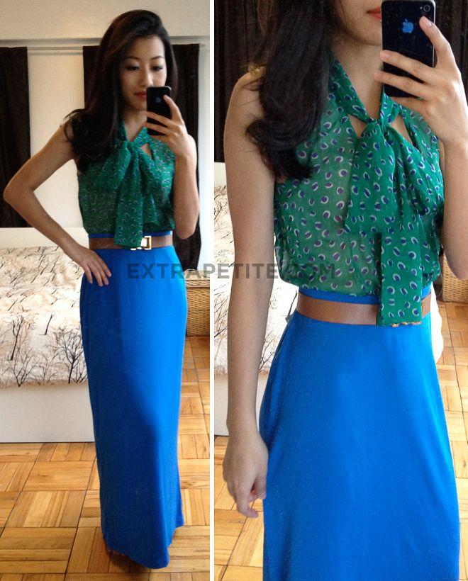 Maxi dress skirt outfit