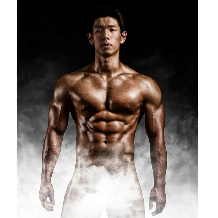 Asian muscle stud