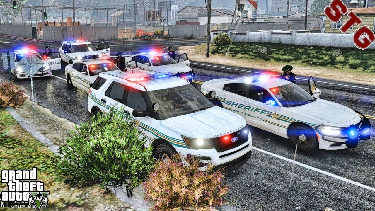 Sheriff Monday Polk County Patrol 117 Gta 5 Real Life Pc