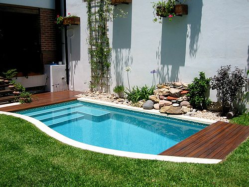 dise o en espacio reducido en 2019 b small backyard On diseno de patios con piscina