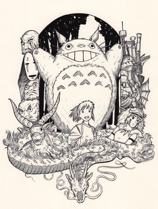 The medieval art of J.M.dragunas | Studio Ghibli | Pinterest ...