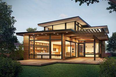 Amazing House Is Half Historic And Half Modern Modern Prefab Homes Prefabricated Houses Prefab Homes