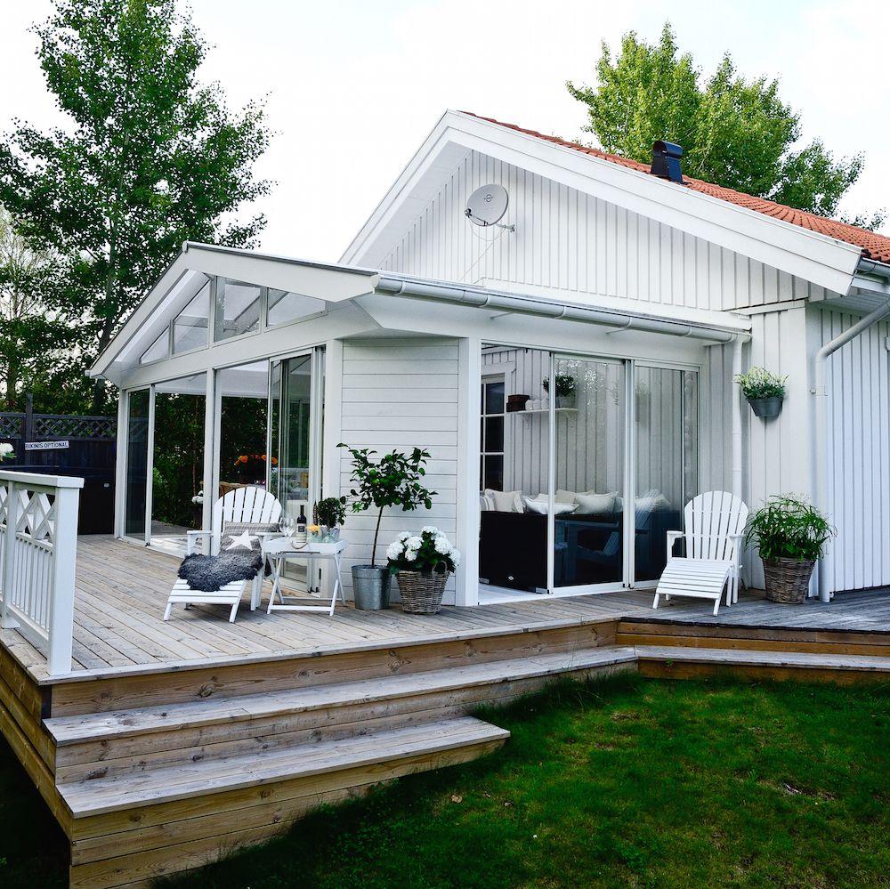inglasad altan långsida hus - Sök på Google | Dalviksberg utomhus ...