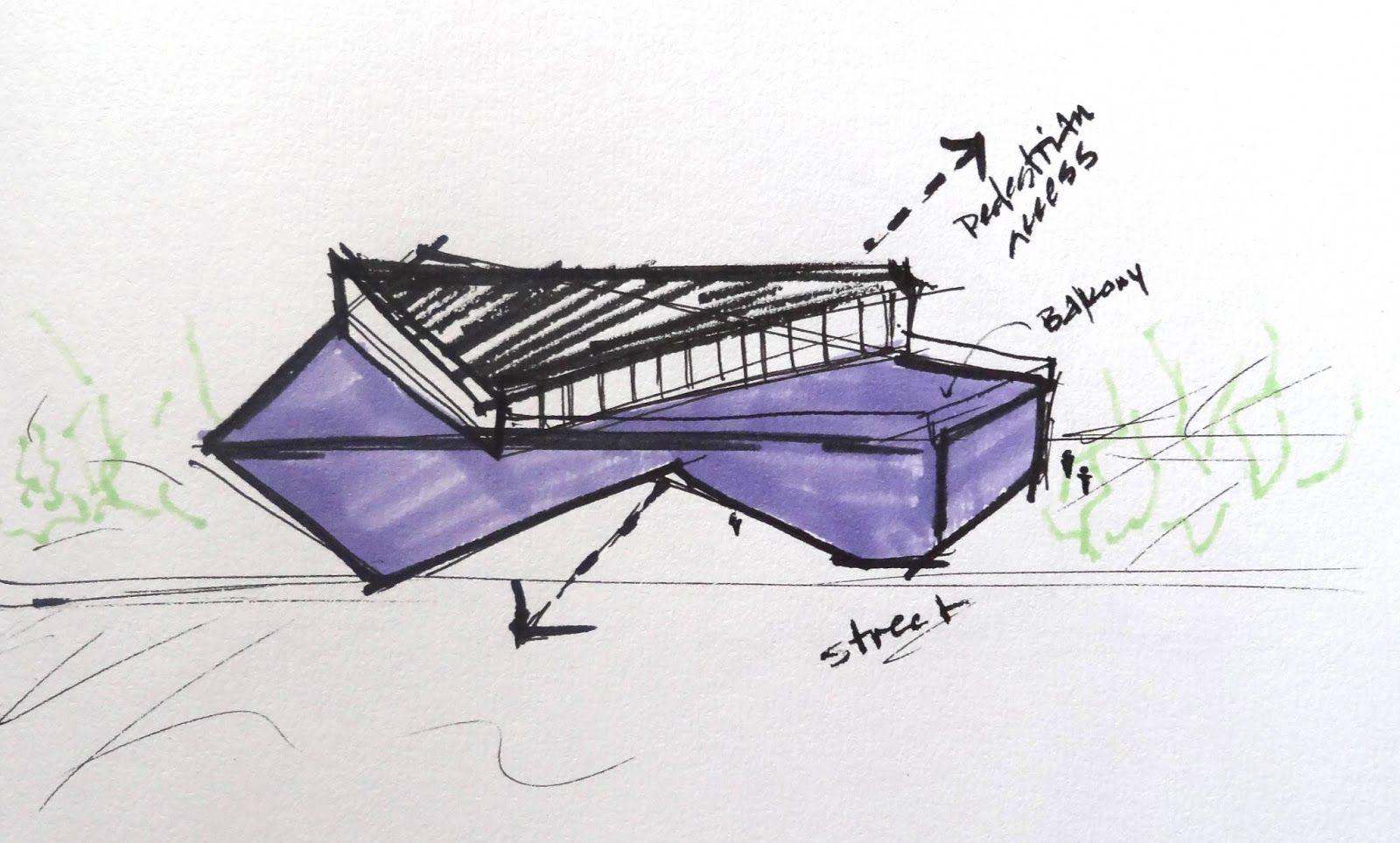 Architecture Design Concept Sketches architecture concept sketch - google search | design sketches