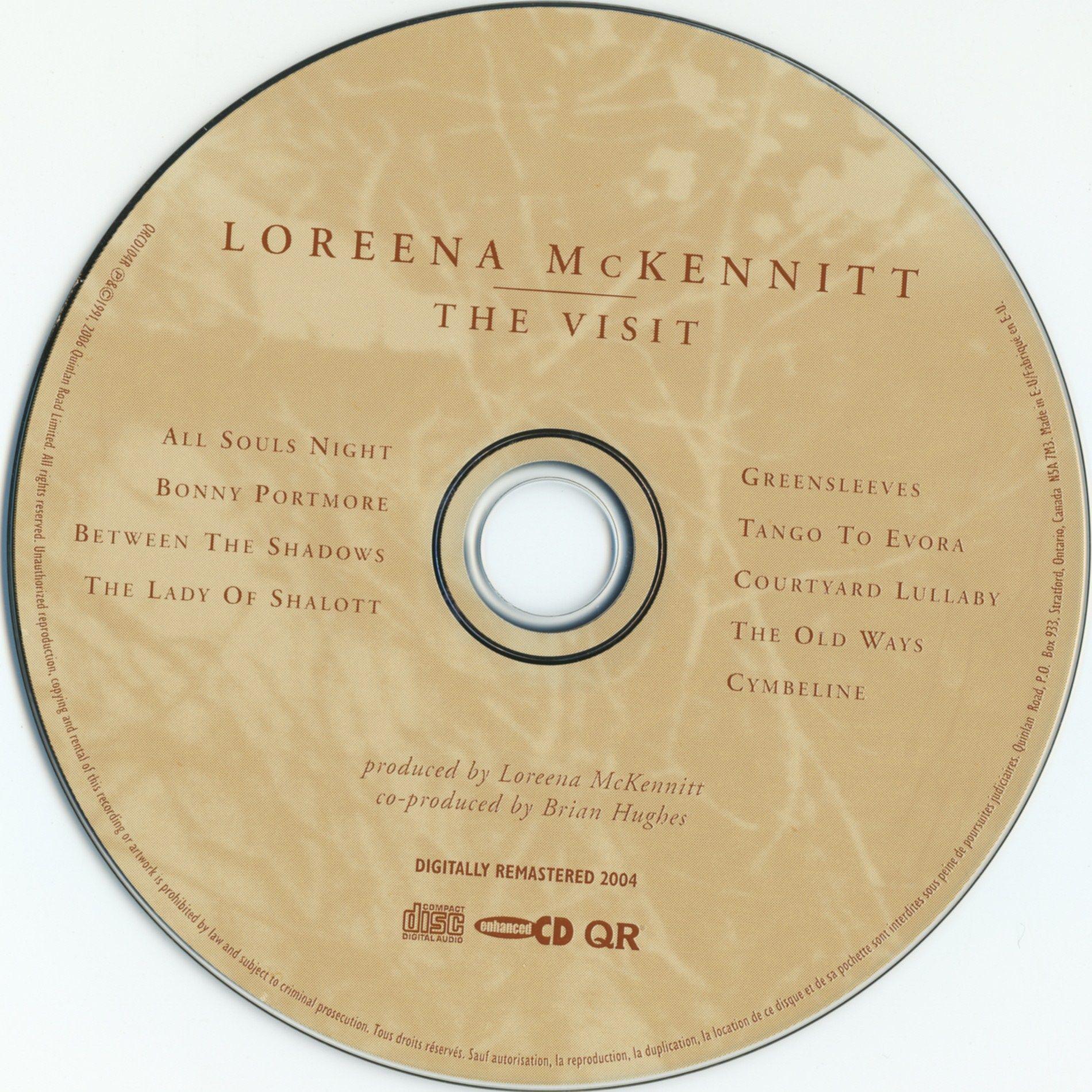 for sale loreena mckennitt a winter garden usa promo cd single