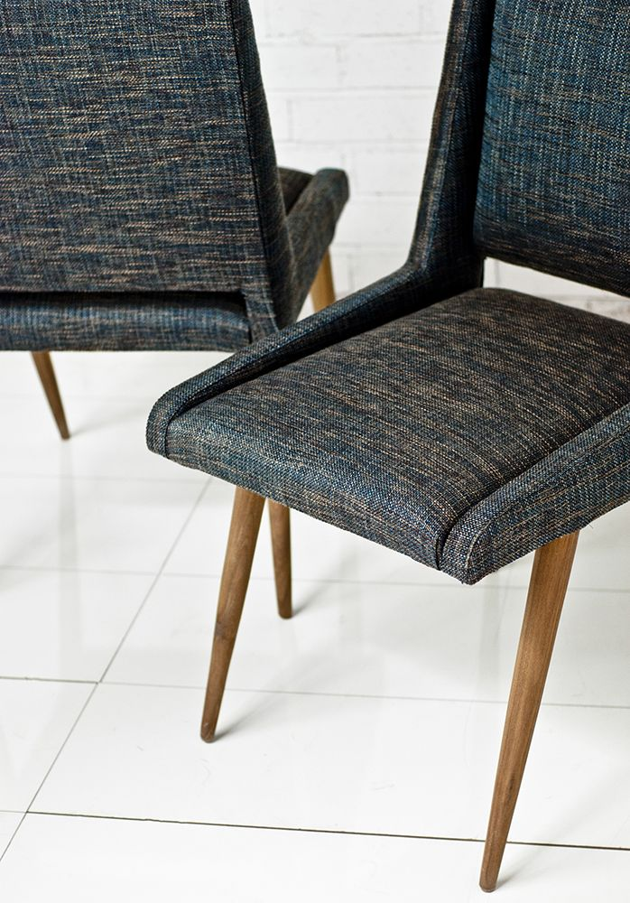 For the Mid Century modern home, the Mid Century dining chairs are