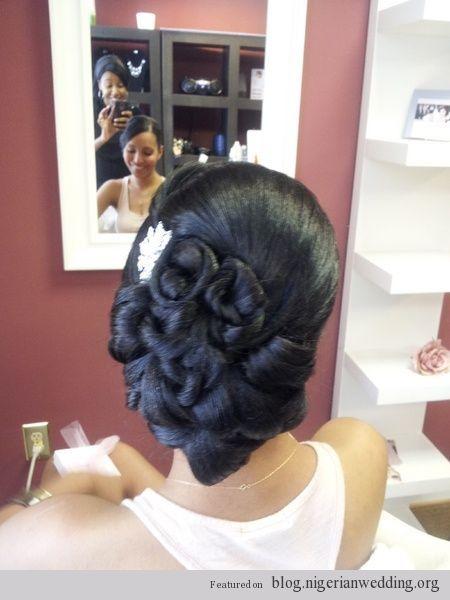 Nigerian Wedding 2014 Bridal Hairstyles Black Wedding Hairstyles Natural Hair Styles American Hairstyles
