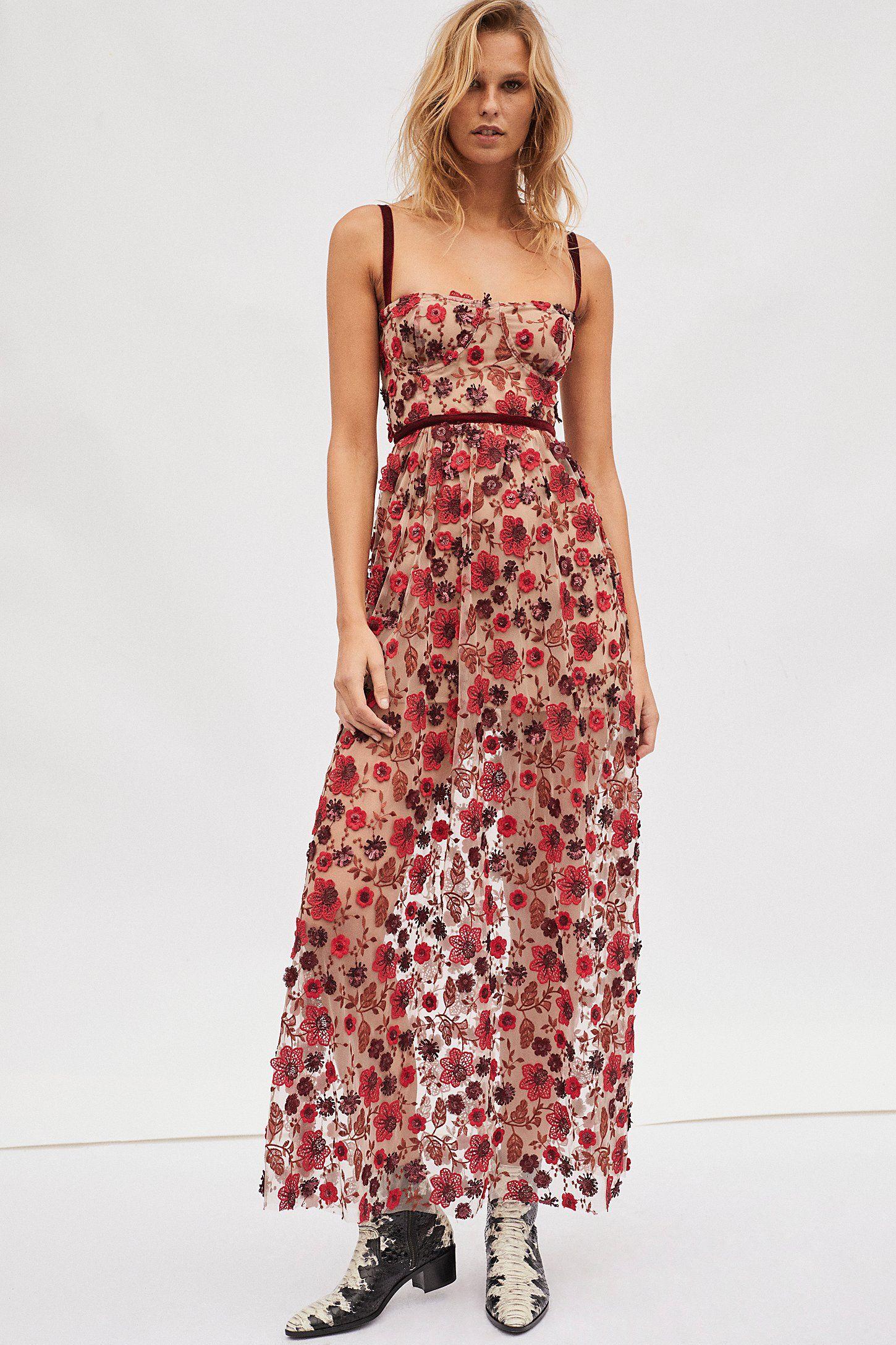 Beatrice Strappy Maxi Dress | Pinterest