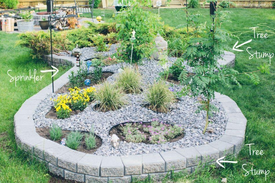 diy raised perennial garden
