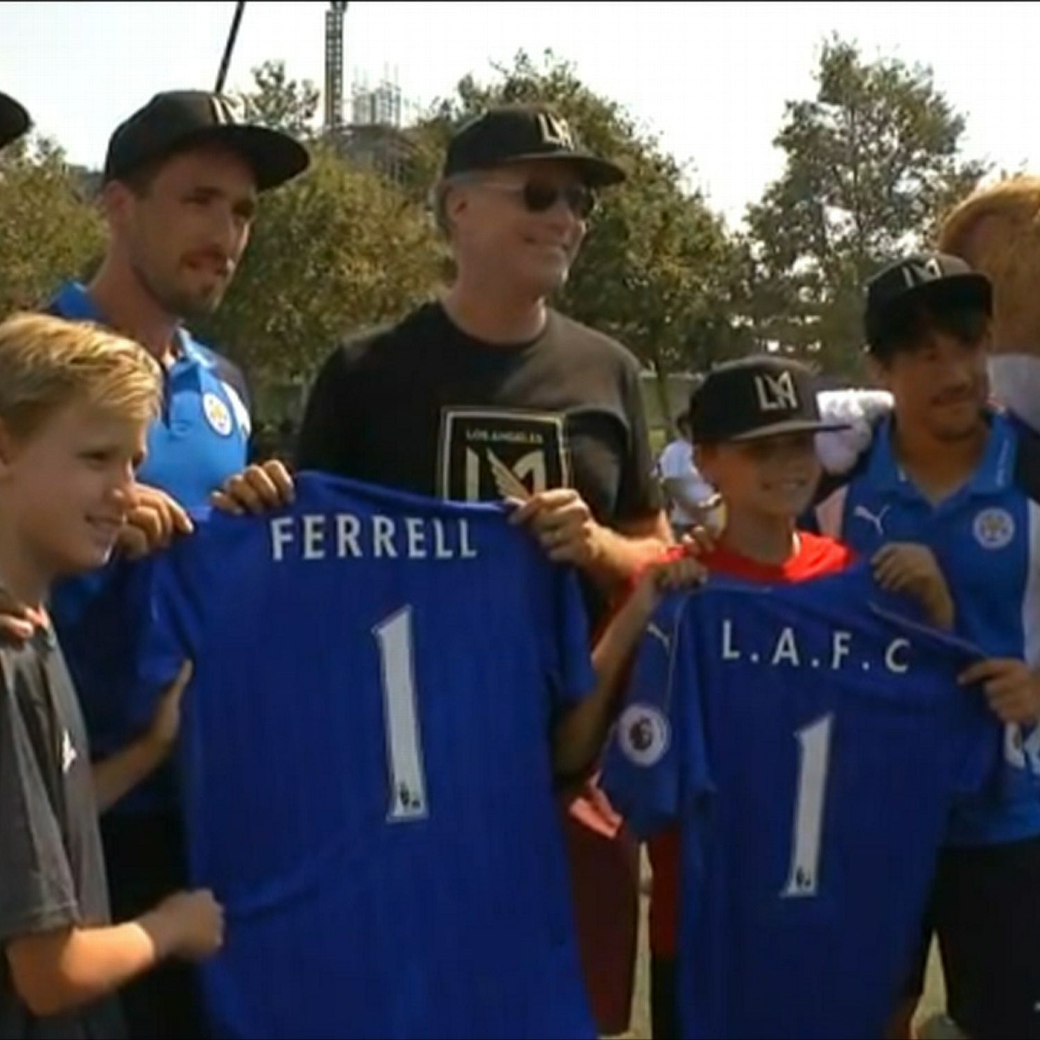 WATCH: Will Ferrell meets Leicester