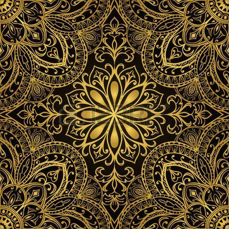 bildergebnis f r stoff orientalisches muster gold. Black Bedroom Furniture Sets. Home Design Ideas