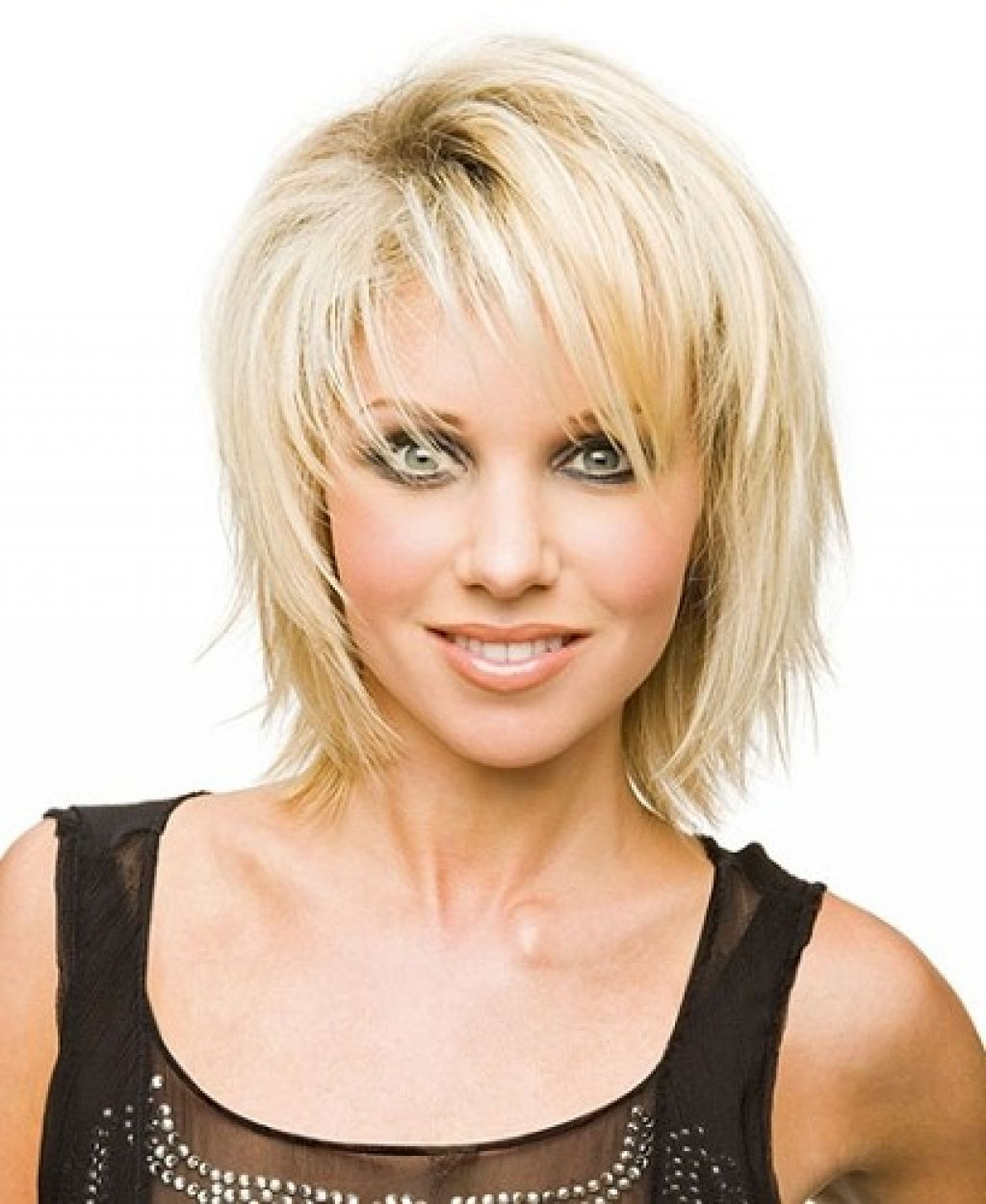 Funky Hairstyles for Medium Length Hair u Uneven Layers and