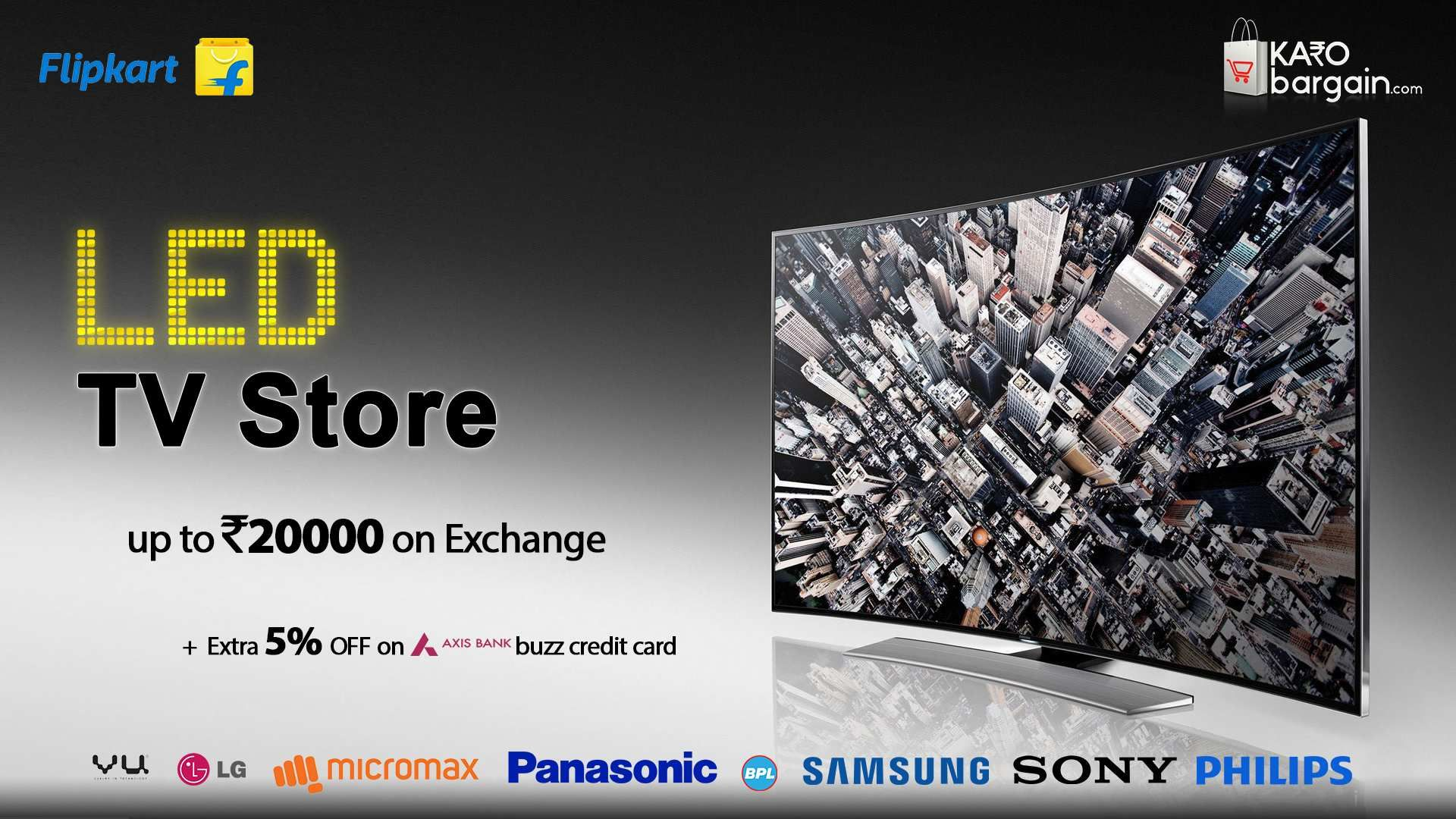 Flipkartboards Led Television Store With Amazing Exchange Offers