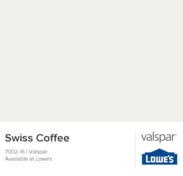 Swiss Coffee 7002 16 Valspar Paint Colors Pinterest Valspar Coffee And House