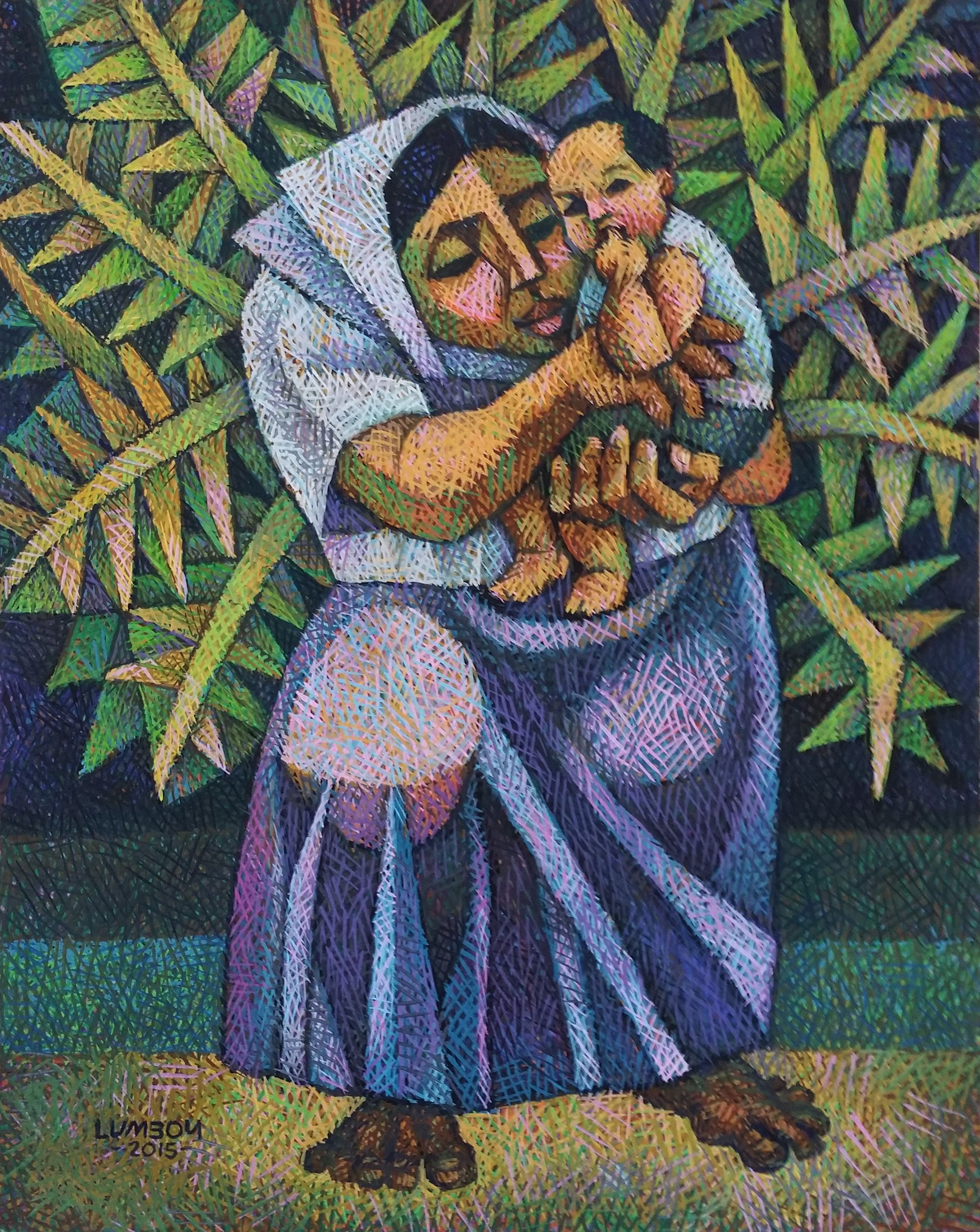 In Loving Arms by Ninoy Lumboy, a Filipino artist